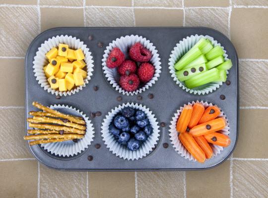 Snacks for letter A - Ants Go Munching