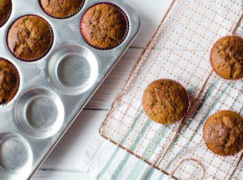 Zucchini muffins with a twist!