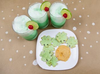 SH Is for Shamrocks & Sherbet- An ABC Snack from All About Reading