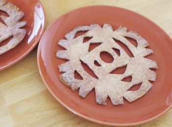 F Is for Fancy Flakes - An ABC Snack from All About Reading