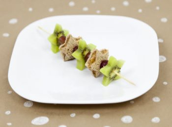 K Is for Kiwi Kabobs - An ABC Snack from All About Reading