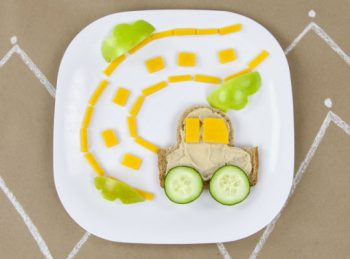 R is for Roarin' Road Racer - An ABC Snack from All About Reading