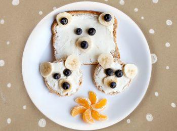 P Is for Papa Polar Bear ABC Snack