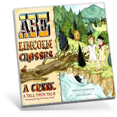 Abe Lincoln Crosses a Creek book cover
