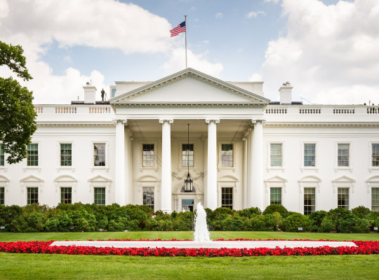 the white house of the united states