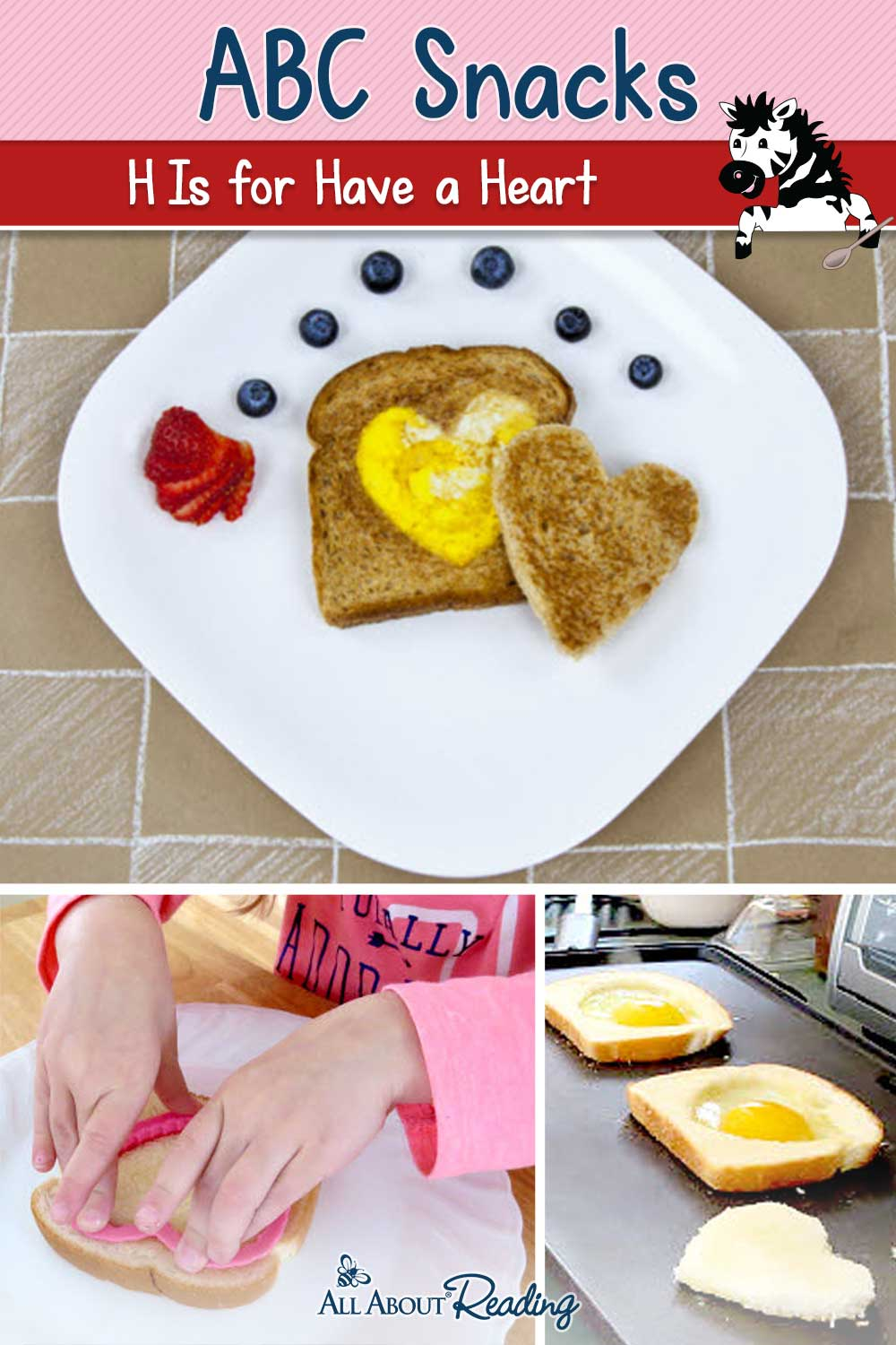 H is for Have a Heart ABC Snack pinterest graphic