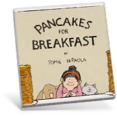 Pancakes for Breakfast book cover