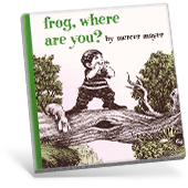 frog, where are you? book cover