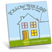 Follow the Line Through the House book cover