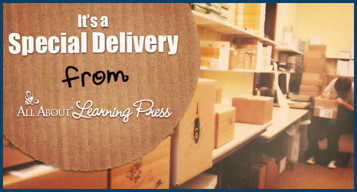 It's a Special Delivery from All About Learning Press!