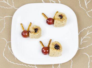 ABC Snacks - Snazzy Snail Snack Bites