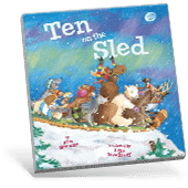 Ten on the Sled book cover
