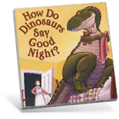 How Do Dinosaurs Say Goodnight? book cover