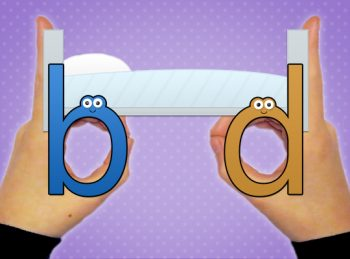 letters b and d reversals