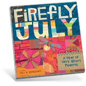 Firefly July: A Year of Very Short Poems book cover