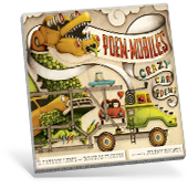Poem-mobiles: Crazy Car Poems book cover