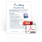 Poetry Picture Books for Kids library checklist download