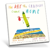 The Day the Crayons Came Home book cover