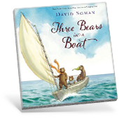 Three Bears in a Boat book cover
