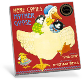 Here Comes Mother Goose book cover