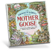 The Arnold Lobel Book of Mother Goose book cover