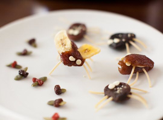 Snacks that start with I - Icky Insects snack