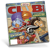 Clubhouse Magazine Cover