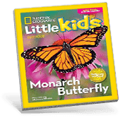 National Geographic Little Kids Magazine Cover
