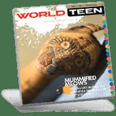WorldTeen Magazine Cover