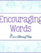 Encouraging Words - All About Learning Press