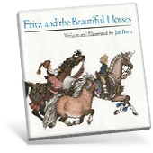 Fritz and the Beautiful Horses book cover