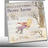 Brave Irene book cover