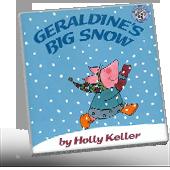 Geraldine's Big Snow book cover
