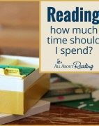 Reading: how much time should I spend? - All About Reading