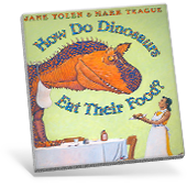 How Do Dinosaurs Eat Their Food? book cover