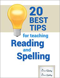 Segmenting - 20 Best Tips for teaching Reading and Spelling