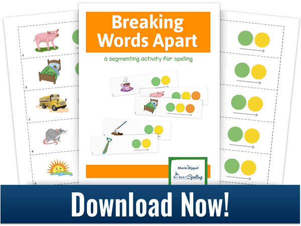 download graphic for a segmenting activity