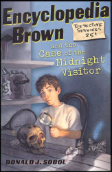 Encyclopedia Brown and the Case of the Midnight Visitor book cover