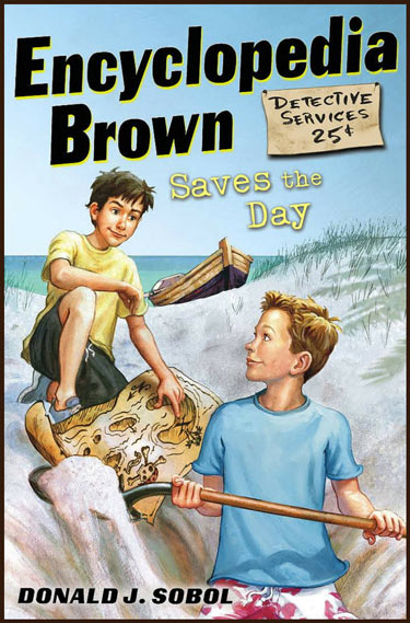 Encyclopedia Brown Saves the Day book cover
