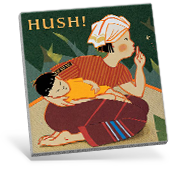 Hush! A Thai Lullaby Book Cover