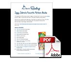 Ziggy Zebra's Favorite Picture Books library checklist download