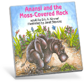 Anansi and the Moss-Covered Rock book cover