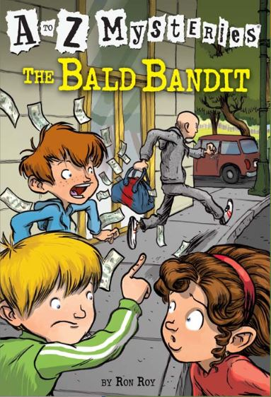 A to Z Mysteries: The Bald Bandit book cover