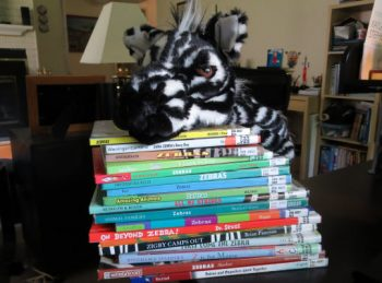 Ziggy Zebra's Favorite Picture Books - Book Reviews from All About Reading