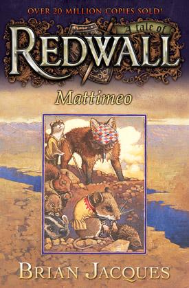 Redwall Mattimeo book cover