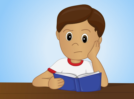 child with reading problem