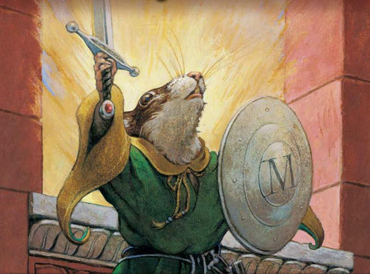 Redwall Chapter Books Reviews - from All About Reading