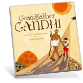 Grandfather Ghandi Book Cover
