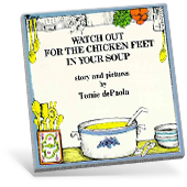 Watch Out for Chicken Feet book cover