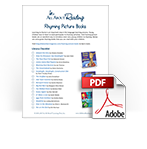 Rhyming Picture Books library checklist download